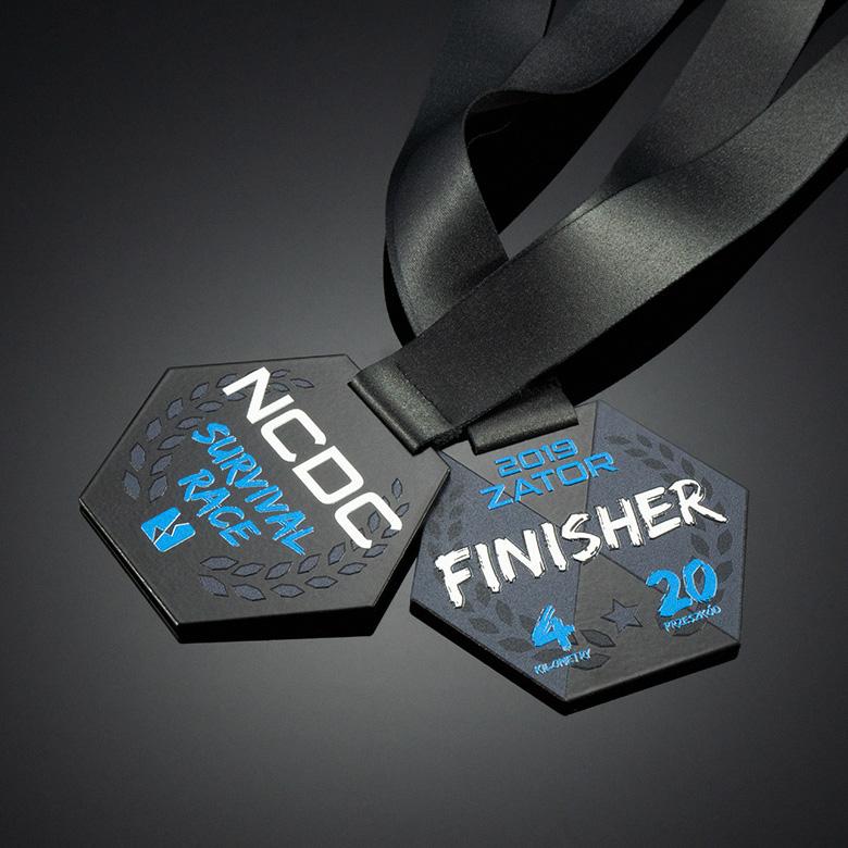 Original medal for Survival Race