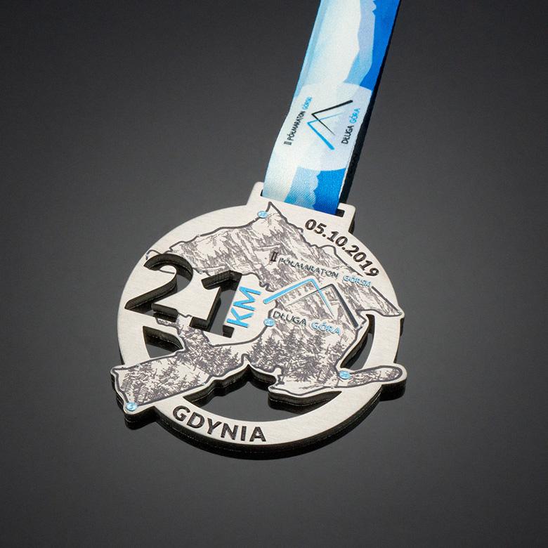 Medal for a half marathon