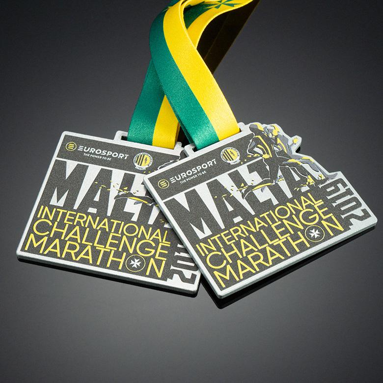 Medals for International Challenge Marathon