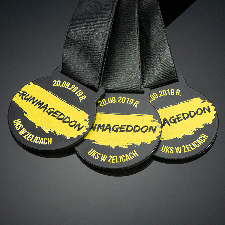 Medals for extreme run