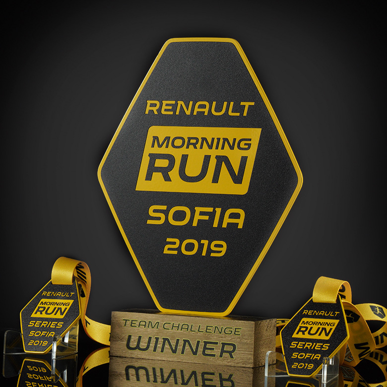 Awards sets for Renault Morning Run