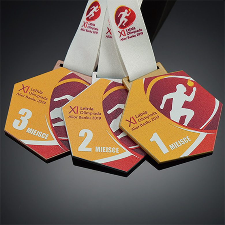 Personalized set of awards for runners