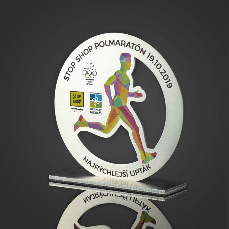 Trophy for a marathon